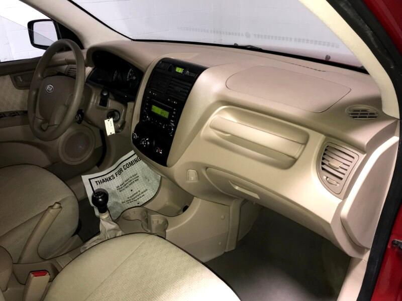 2008 Kia Sportage LX 4WD 2.0 LITER 5-SPD MANUAL