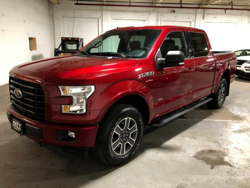 2017 Ford F-150 XLT FX4 SUPERCREW SPORT 4WD