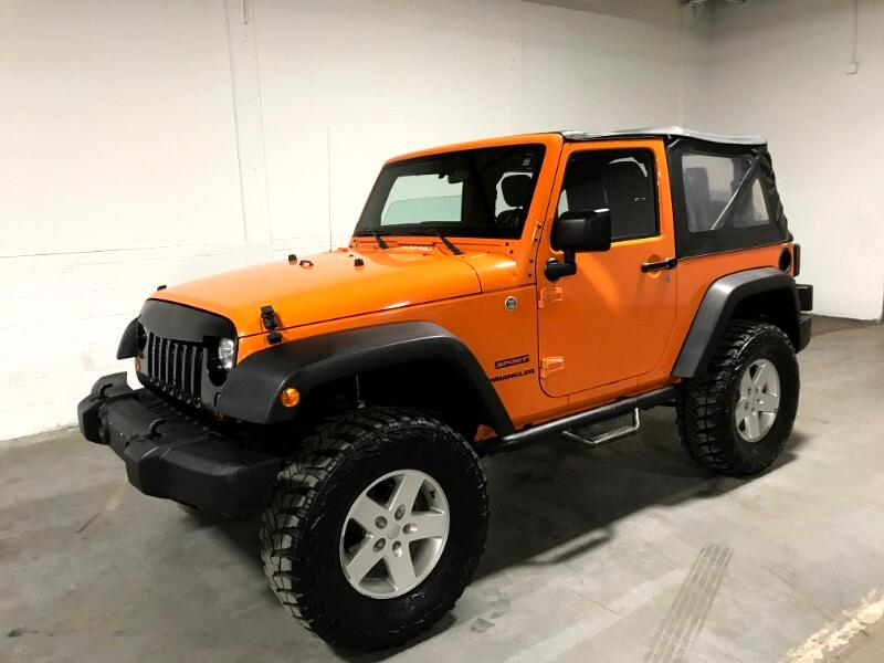 2012 Jeep Wrangler SPORT 4WD w/NAVIGATION