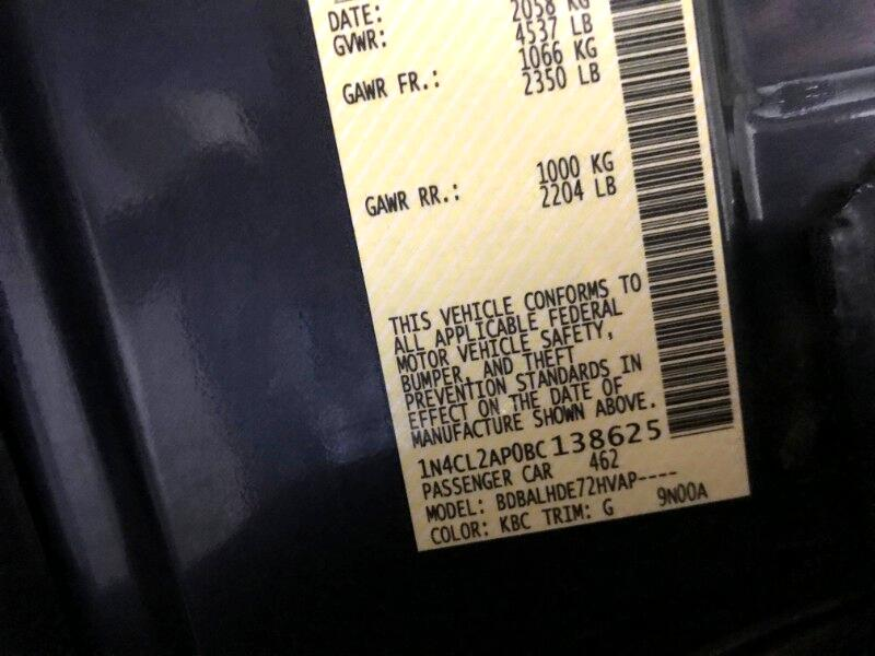 2011 Nissan Altima Hybrid HEV