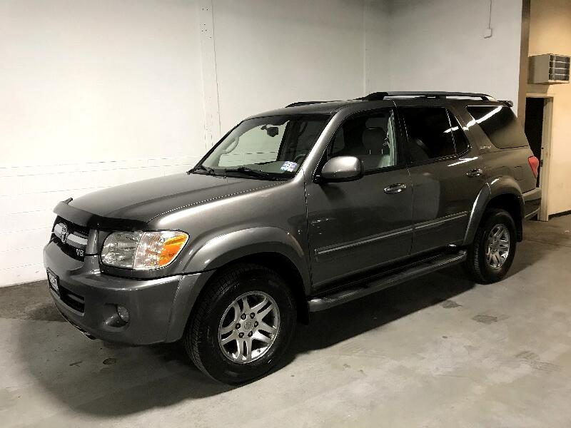 2005 Toyota Sequoia LIMITED 4WD LEATHER w/SUNROOF