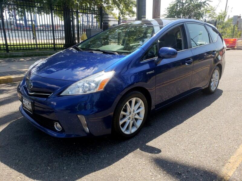 2012 Toyota Prius V FIVE LEATHER DUAL ROOF NAVIGATION w/BACKUP CAMERA