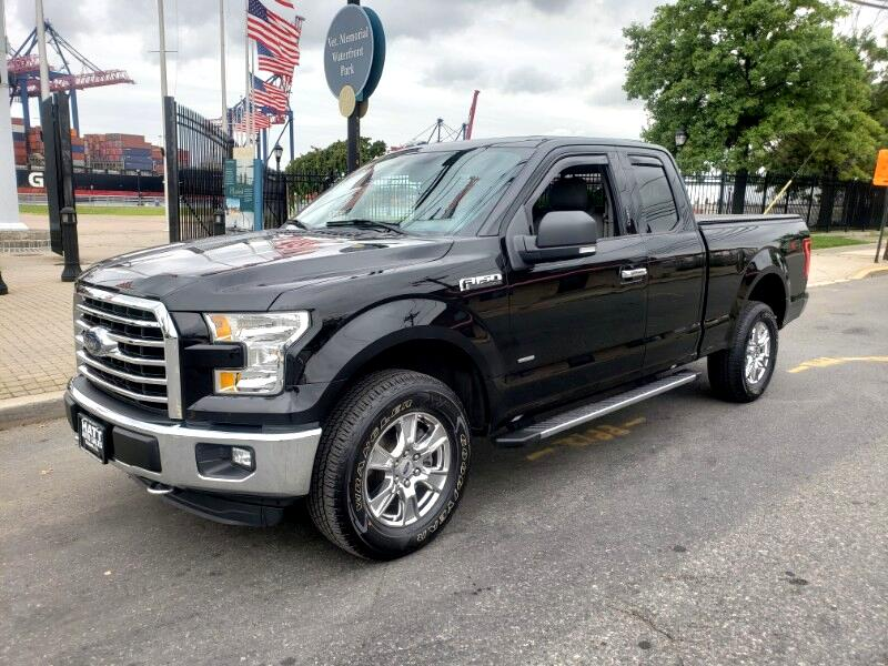 2016 Ford F-150 XLT SUPERCAB 4WD w/BACKUP CAMERA