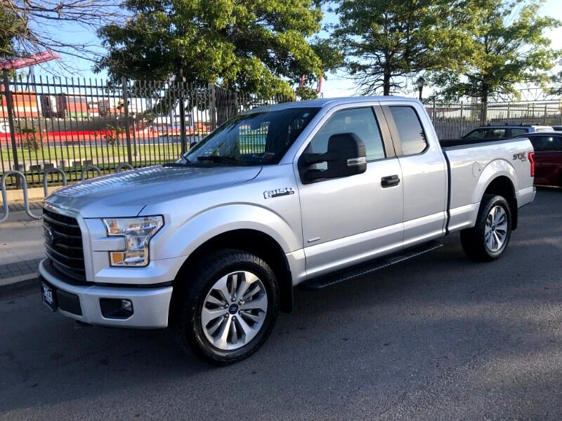 2017 Ford F-150 XL STX SuperCab 4WD