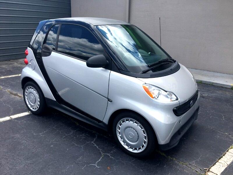 smart Fortwo passion coupe 2015