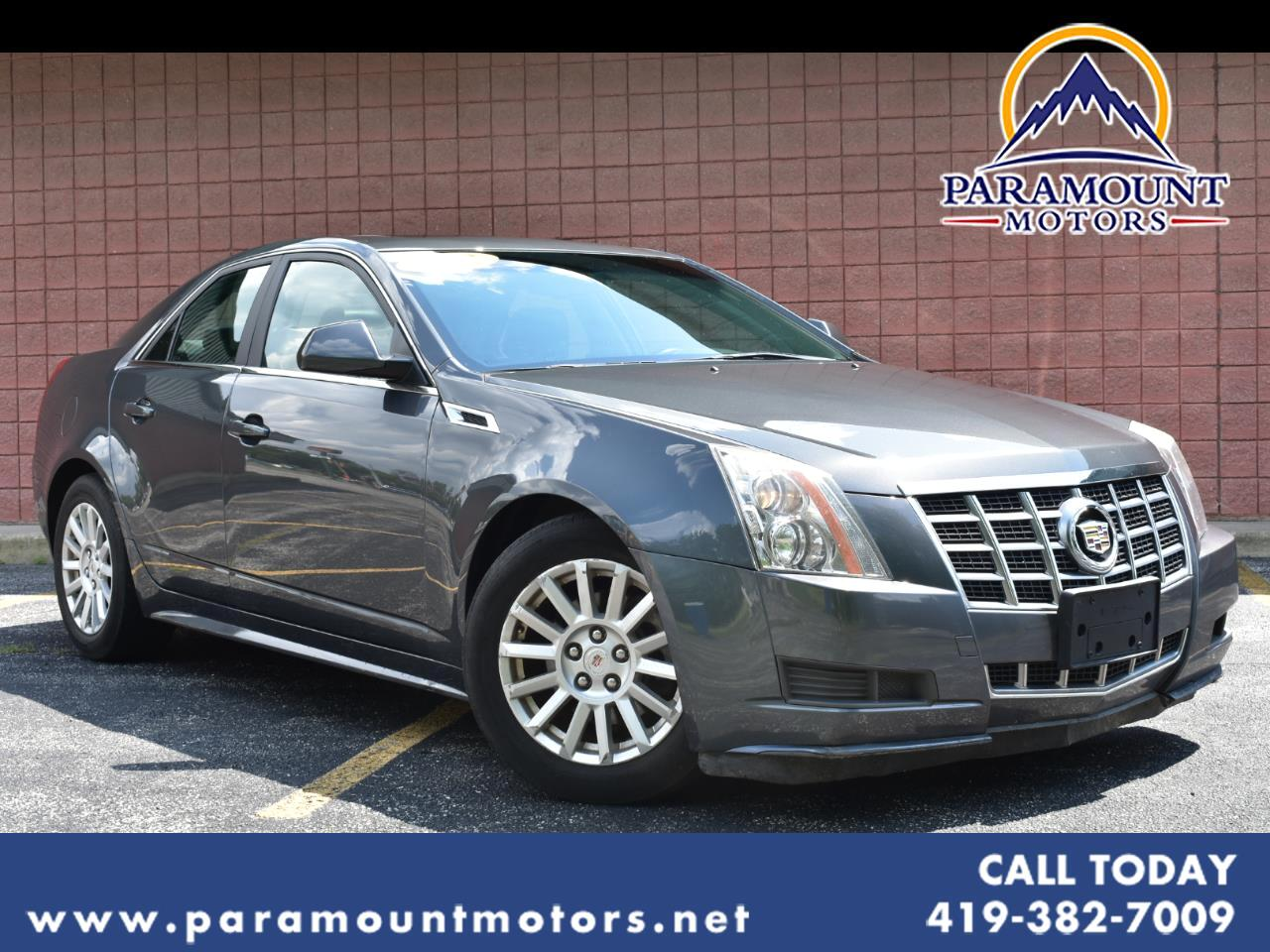 Cadillac CTS 4dr Sdn 3.0L Luxury AWD 2012