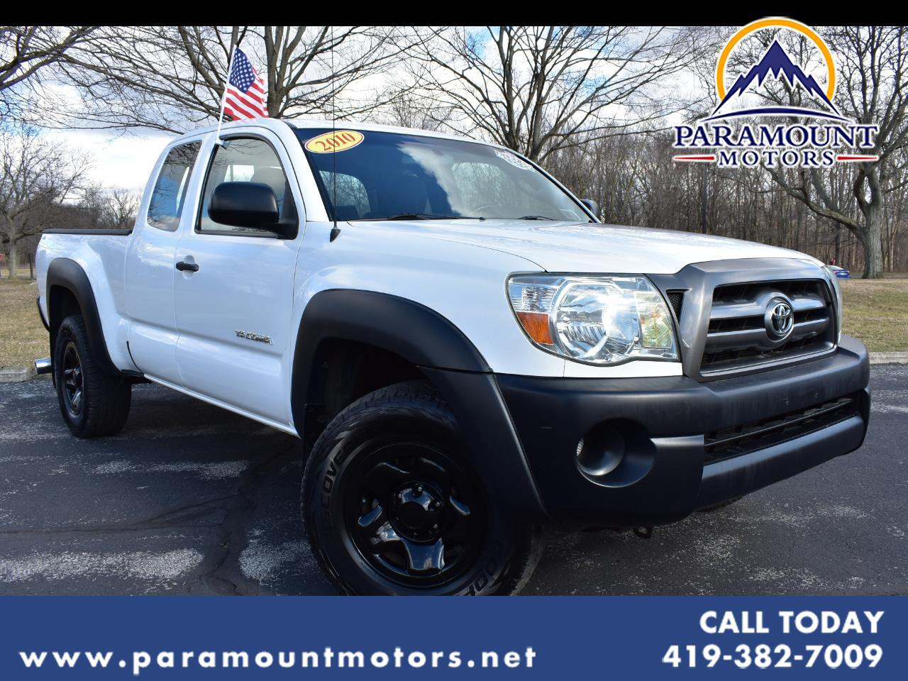 Toyota Tacoma 4WD Access I4 MT (Natl) 2010