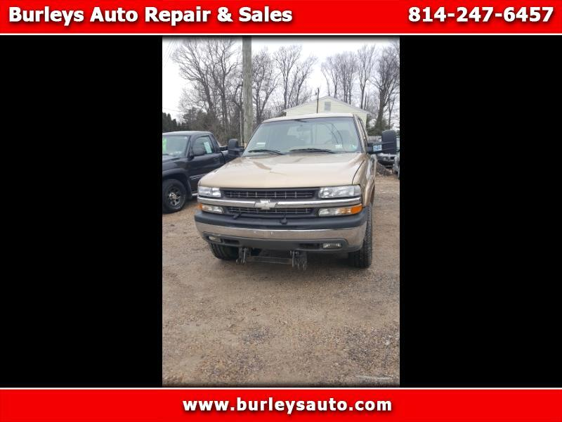 Chevrolet Silverado 2500 Ext. Cab 3-Door Short Bed 4WD 2000