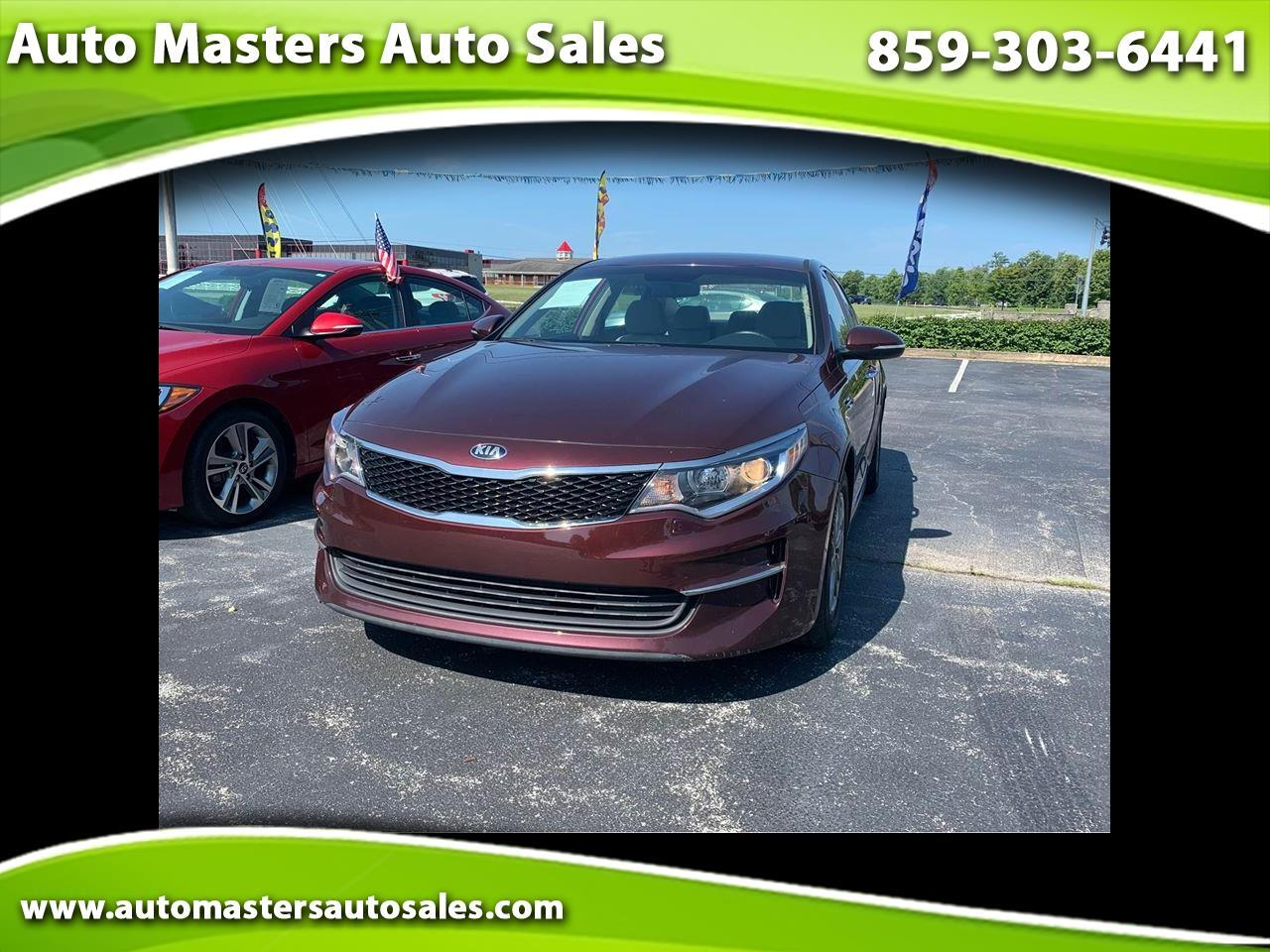 Kia Optima 4dr Sdn LX Turbo 2016