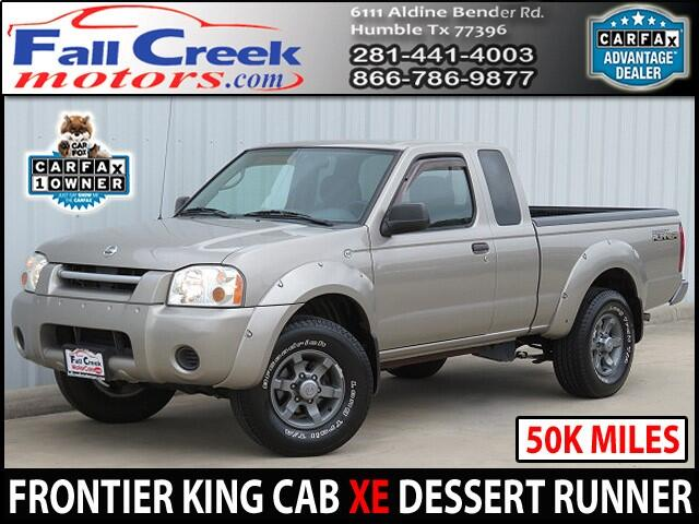 2002 Nissan Frontier XE-V6 King Cab Desert Runner 2WD