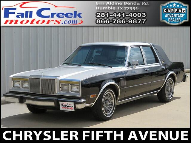 1985 Chrysler Fifth Avenue Base