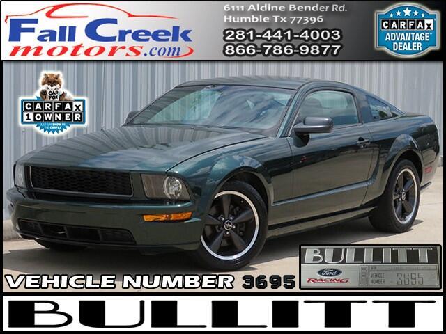 2008 Ford Mustang 2dr Cpe GT Bullitt Edition