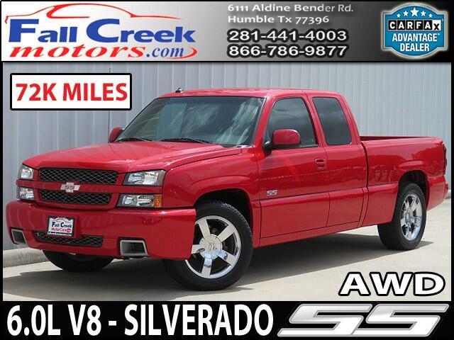 2003 Chevrolet Silverado 1500 SS Ext. Cab AWD
