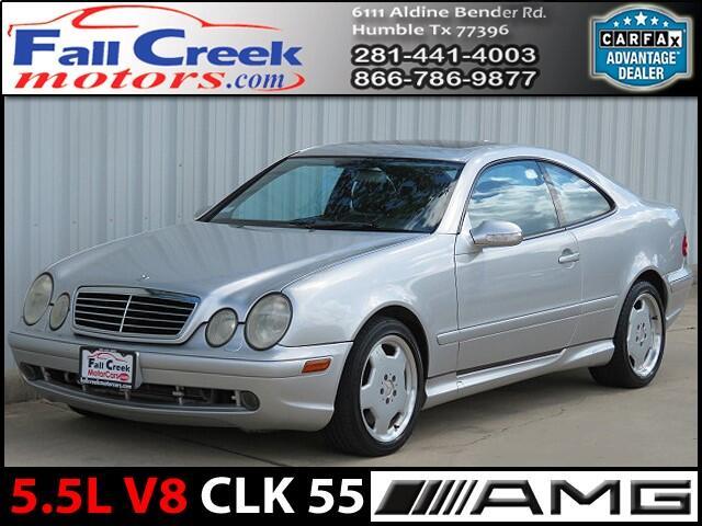 2001 Mercedes-Benz CLK-Class CLK55 AMG Coupe