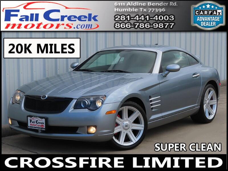 2008 Chrysler Crossfire Coupe Limited