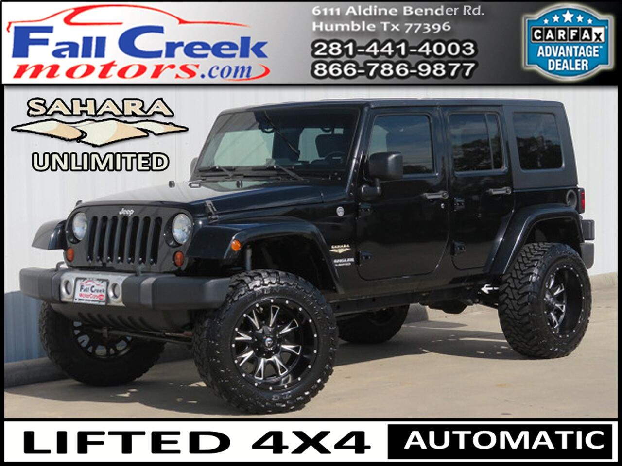 2010 Jeep Wrangler Unlimited Sahara 4WD