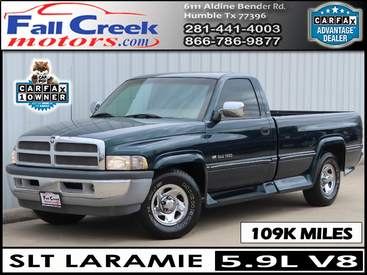 1994 Dodge Ram 1500 LARAMIE SLT REGULAR CAB