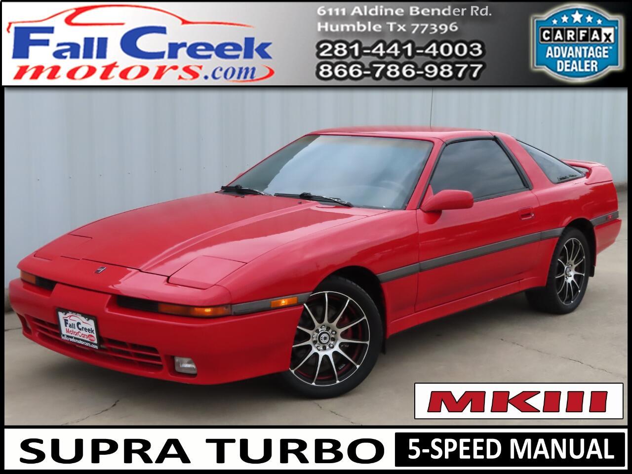 Toyota Supra Turbo 1990