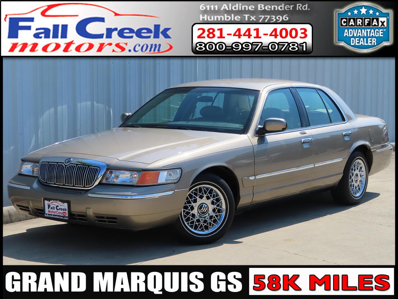2001 Mercury Grand Marquis GS