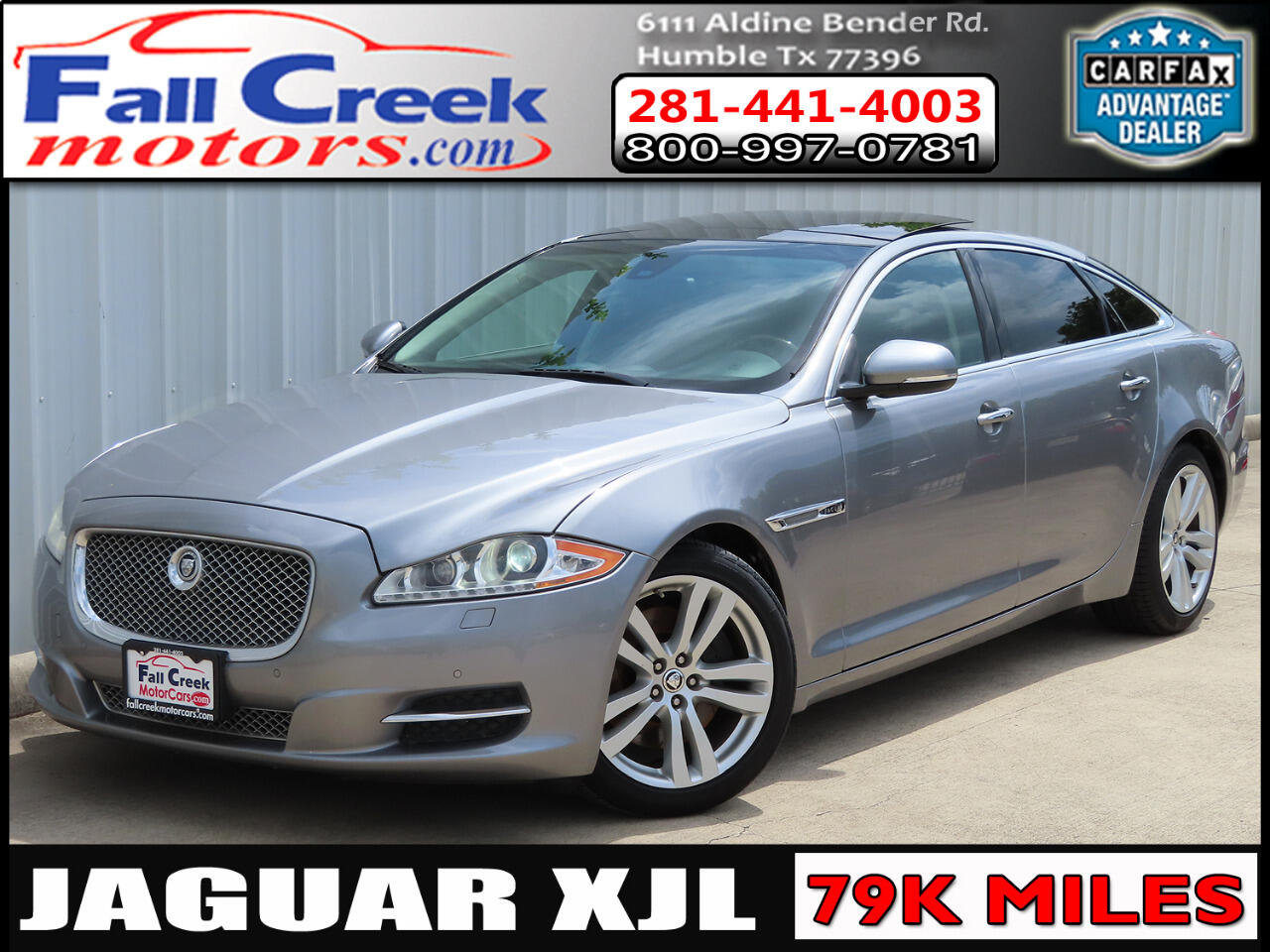 2011 Jaguar XJ-Series XJL