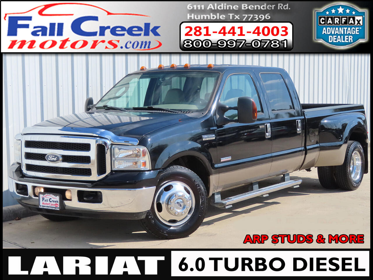 Ford F-350 SD Lariat Crew Cab Long Bed 2WD DRW 2006