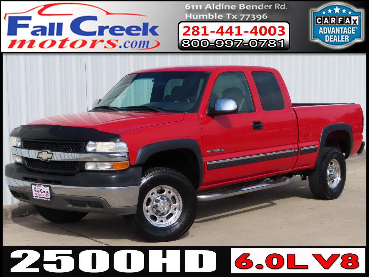 Chevrolet Silverado 2500HD LS Ext. Cab Short Bed 2WD 2002