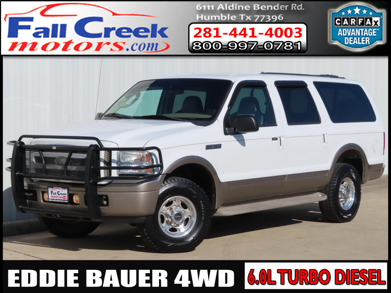 Ford Excursion Eddie Bauer 6.0L 4WD 2005