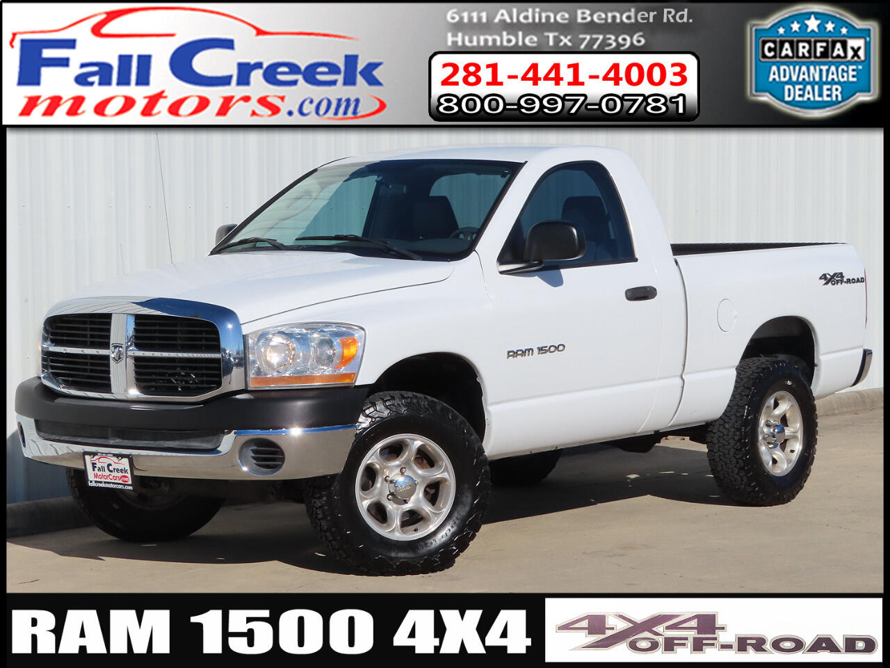 Dodge Ram 1500 TRX4 Off Road 4WD 2006