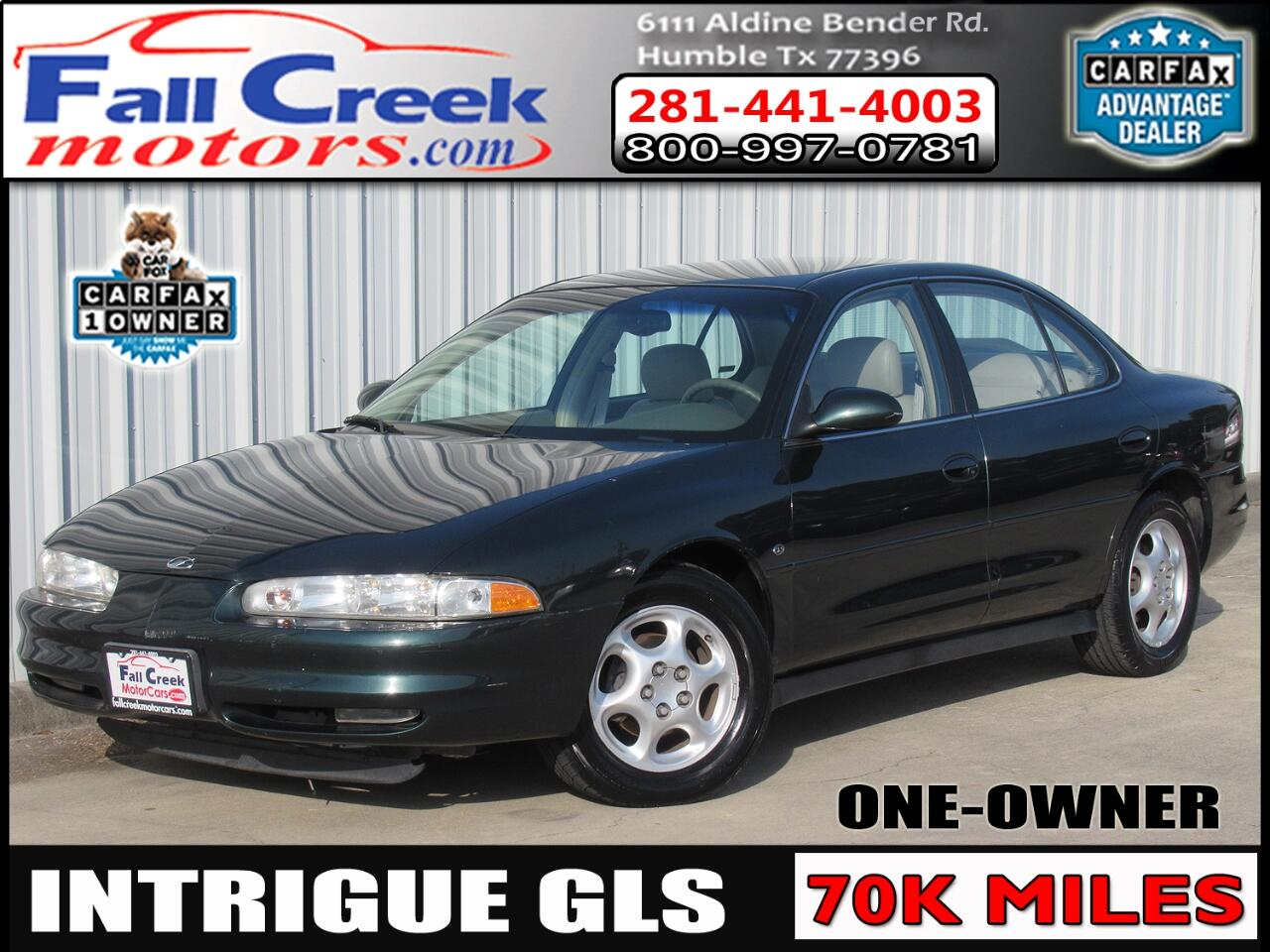 Oldsmobile Intrigue GLS 1999