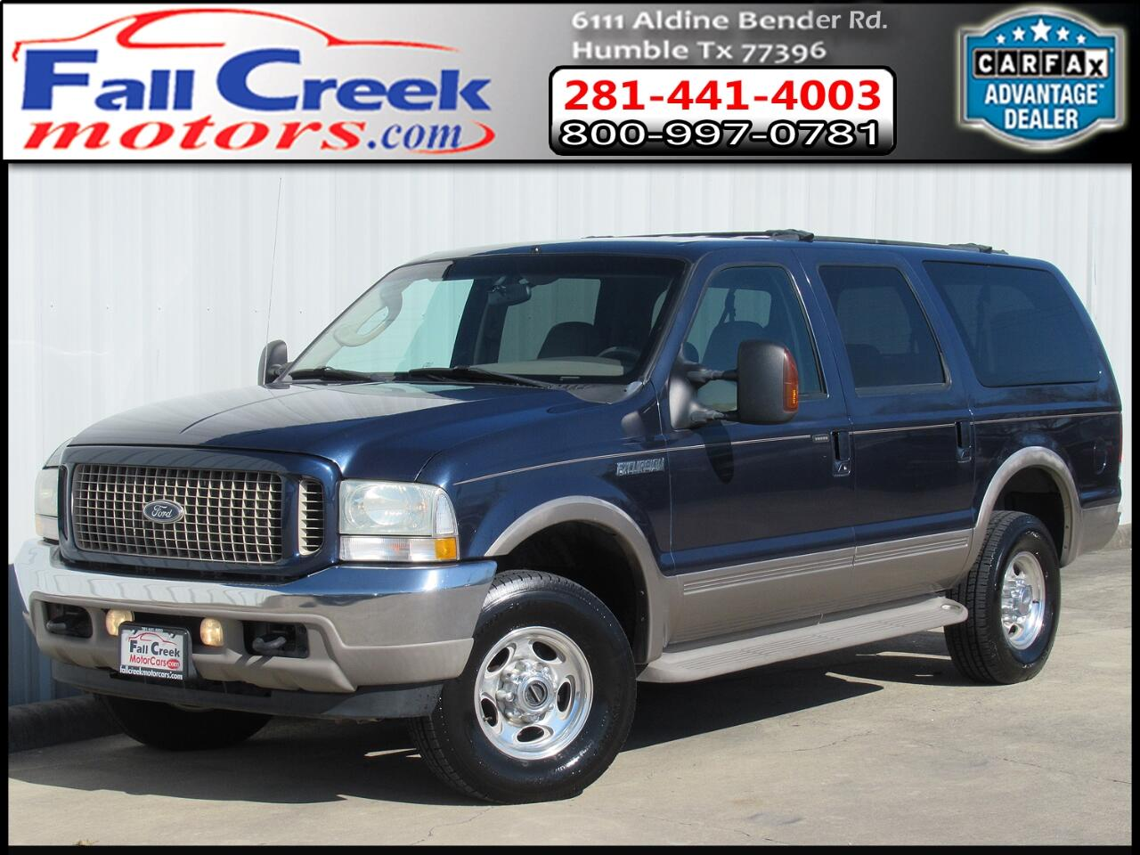 Ford Excursion Eddie Bauer 6.0L 4WD 2004