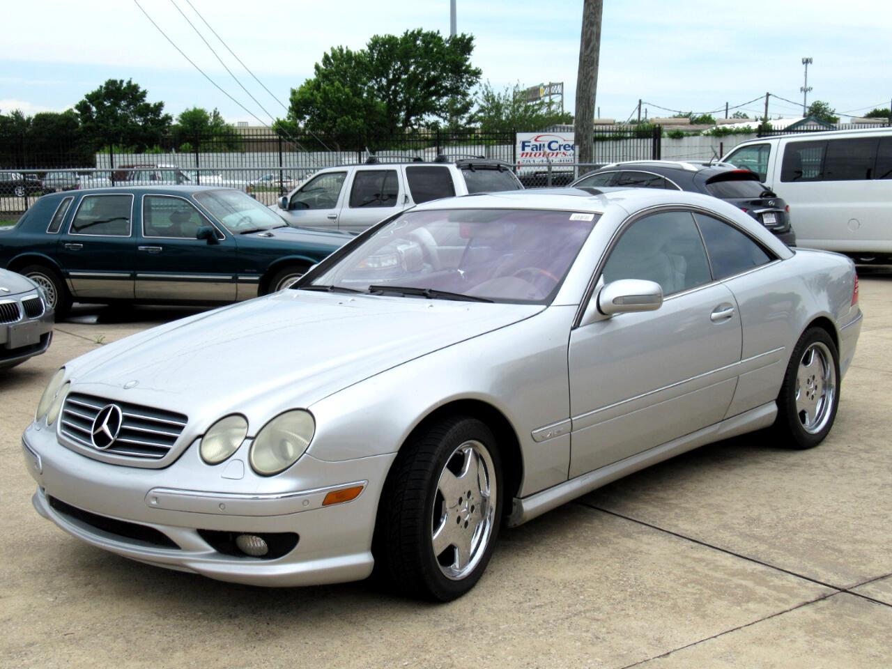 Mercedes-Benz CL-Class CL600 2001