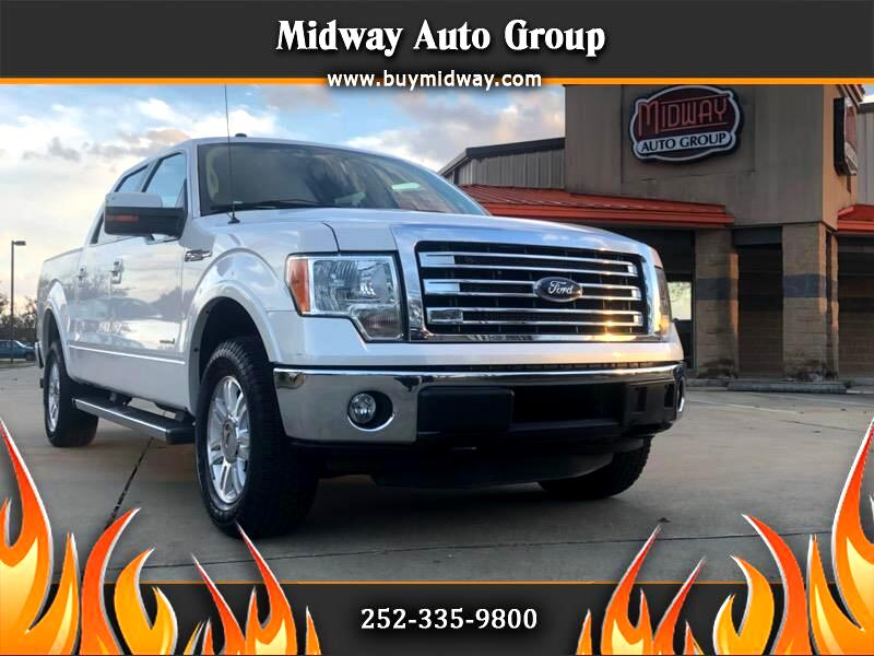 "2013 Ford F-150 4WD SuperCab 145"" Lariat"