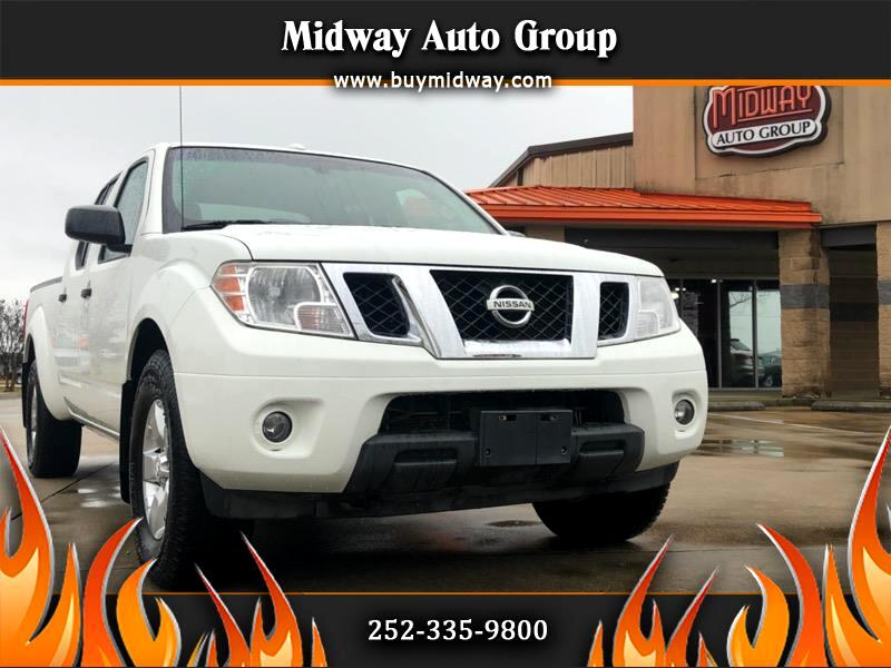 2013 Nissan Frontier 4WD Crew Cab LWB Auto SV
