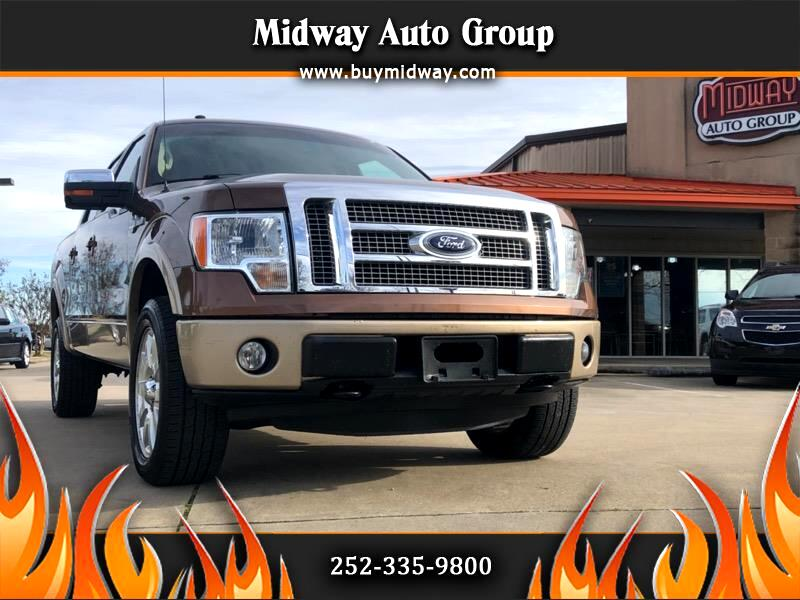 "2011 Ford F-150 SuperCrew 150"" King Ranch 4WD"