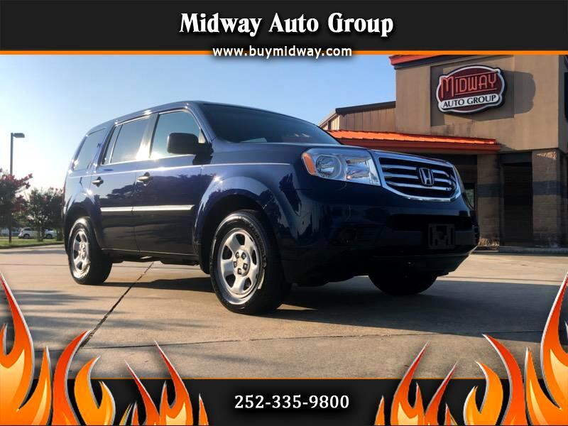 Honda Pilot LX 2WD 5-Spd AT 2014