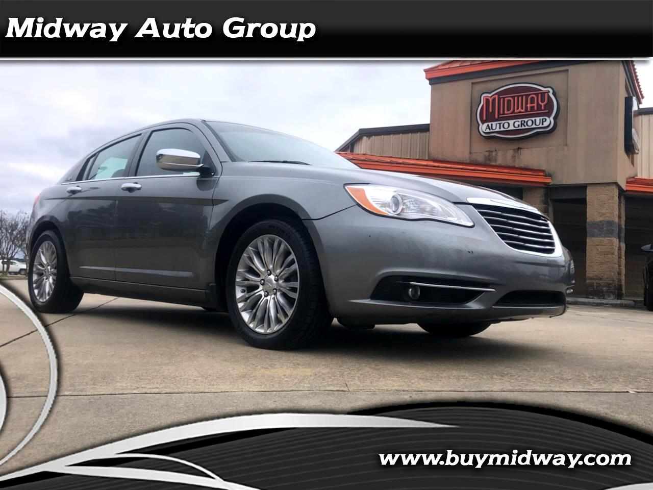 Chrysler 200 4dr Sdn Limited 2013