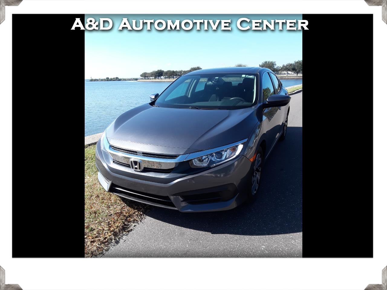 Honda Civic EX Sedan CVT 2018