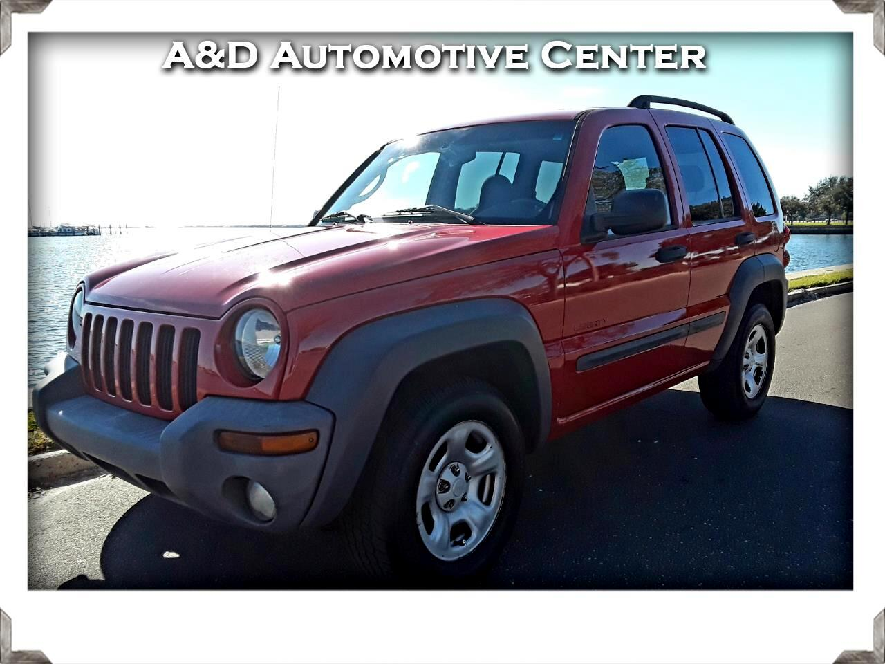 Jeep Liberty Sport 2WD 2004