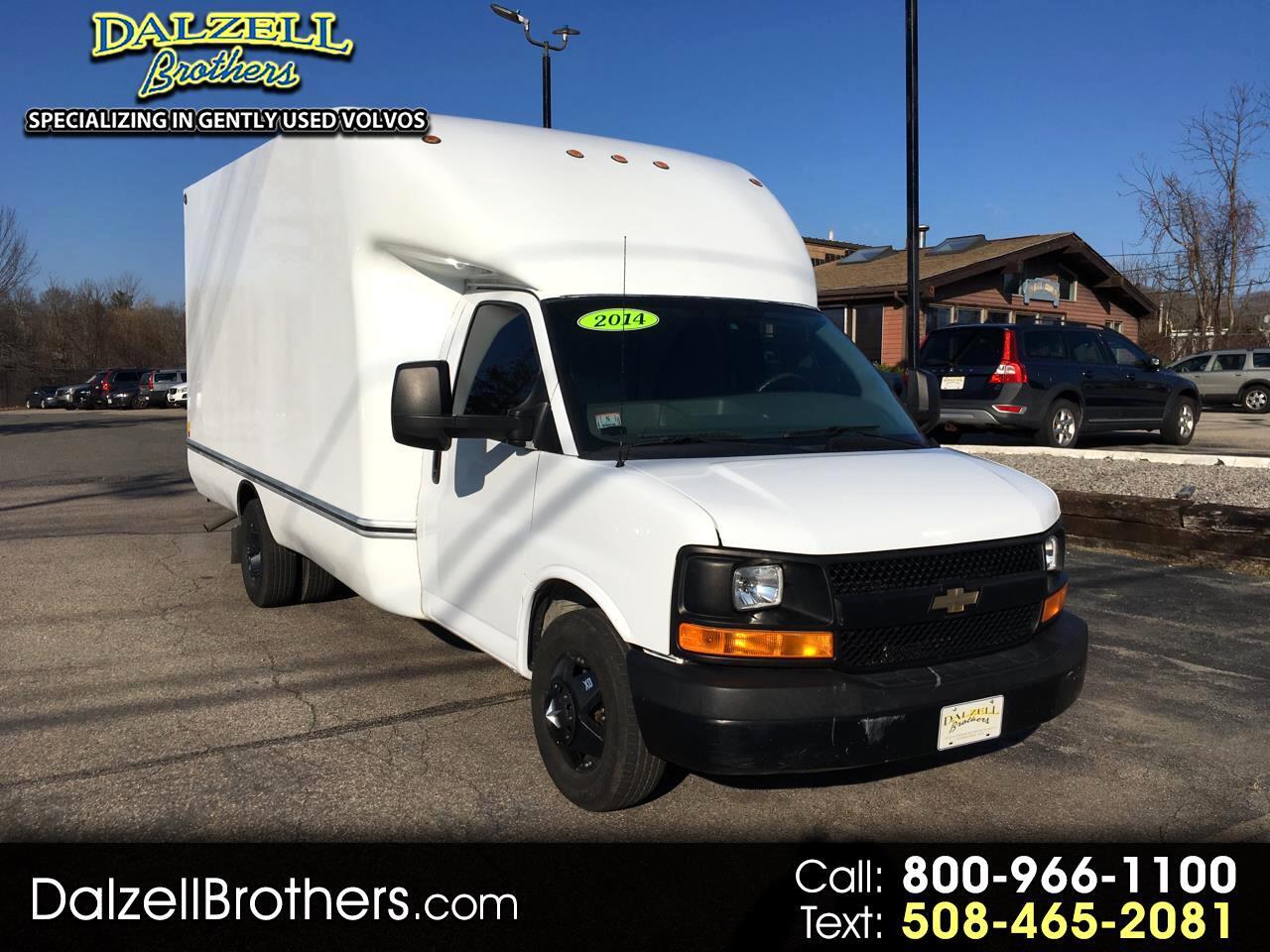 """2014 Chevrolet Express Commercial Cutaway 3500 Van 159"""""""