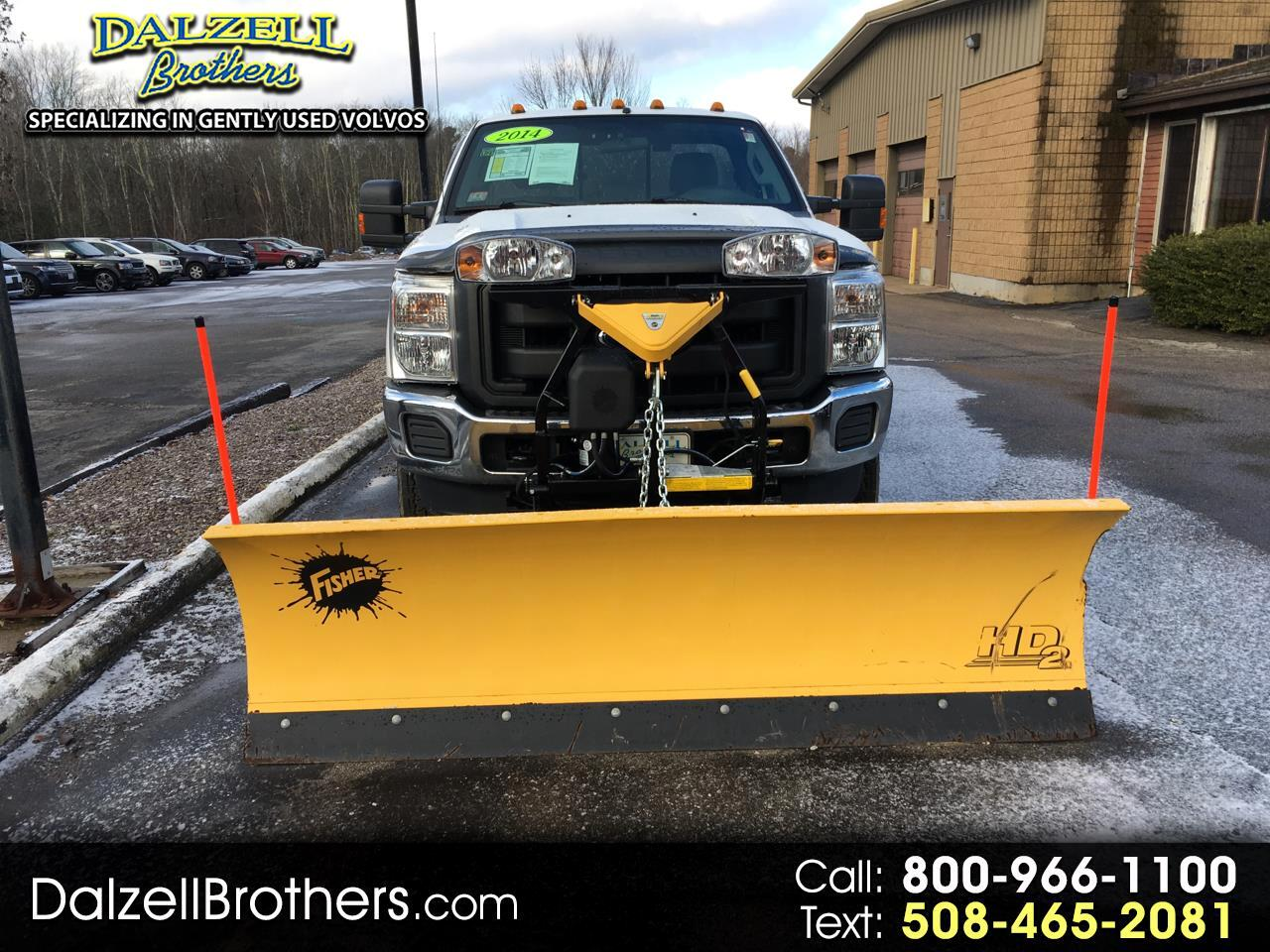 2014 Ford Super Duty F-350 SRW 4WD Reg.Cab.W/PLOW