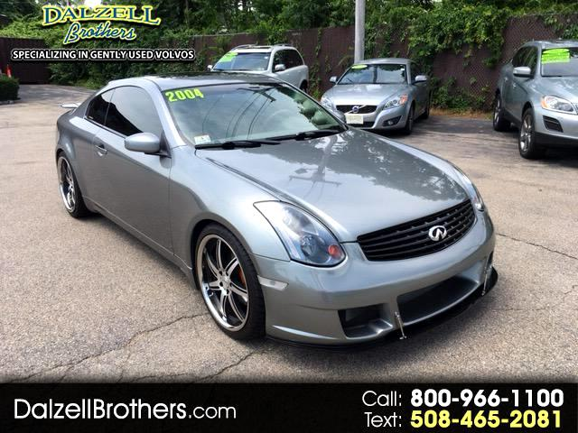 2004 Infiniti G35 2dr Cpe Manual w/Leather