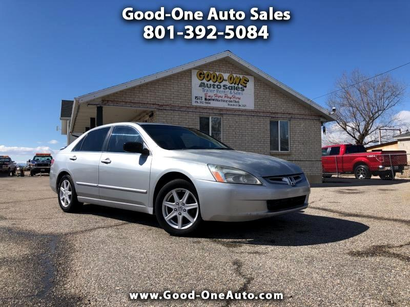 2004 Honda Accord EX Sedan AT w/ Leather and XM Radio