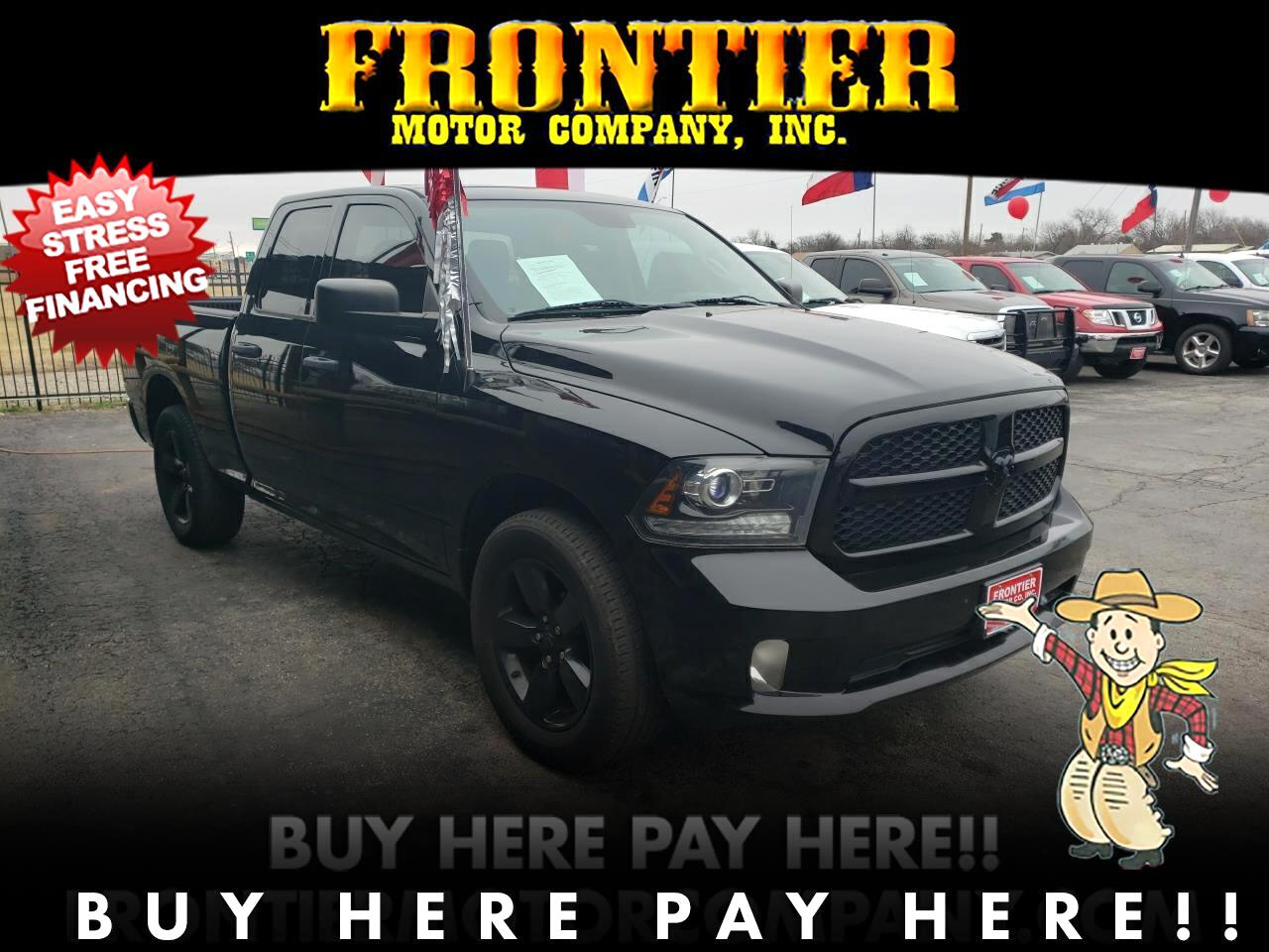 2014 Dodge 1500 Tradesman Quad Cab 2WD