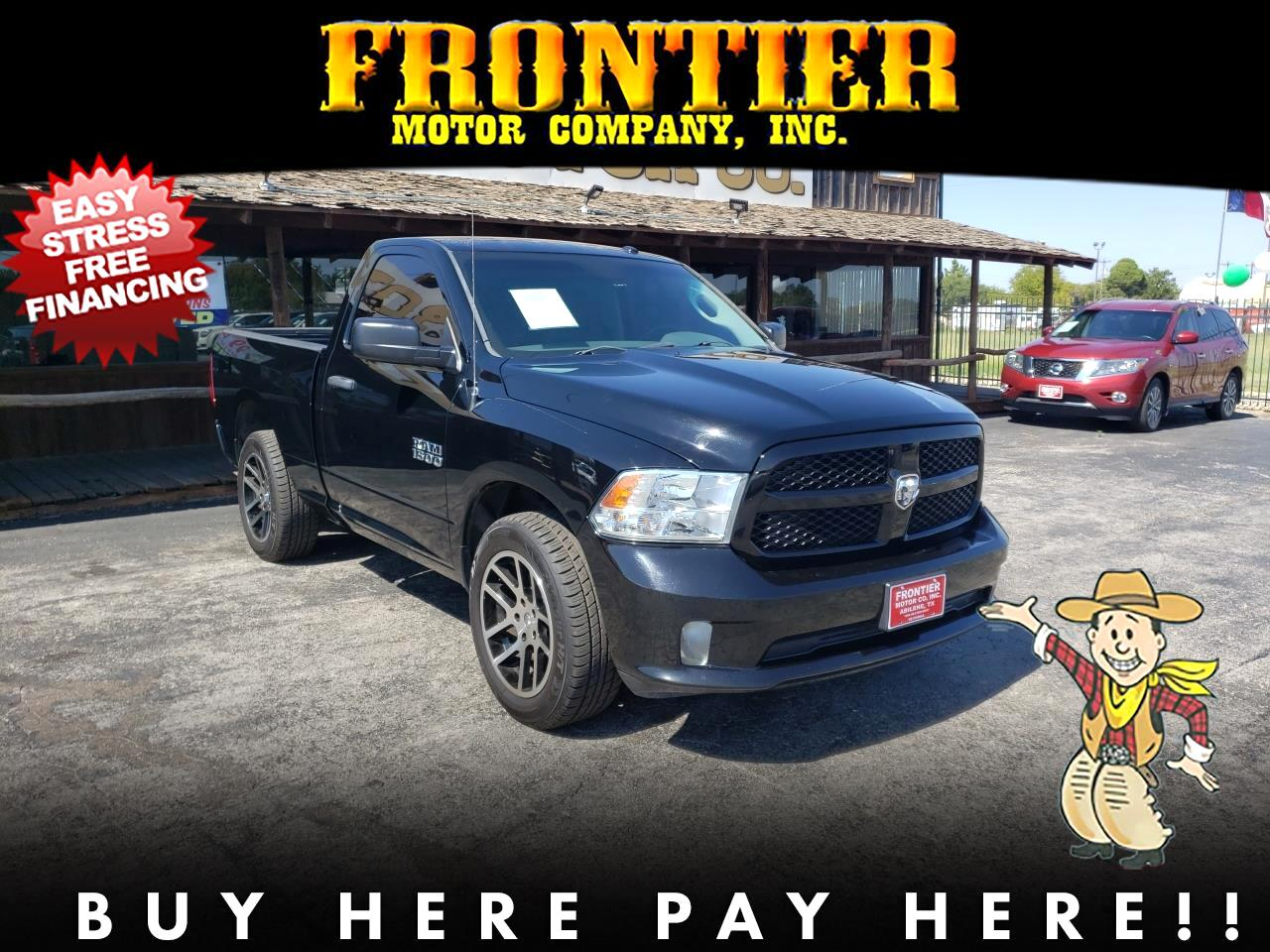 2014 Dodge 1500 Tradesman Regular Cab SWB 2WD