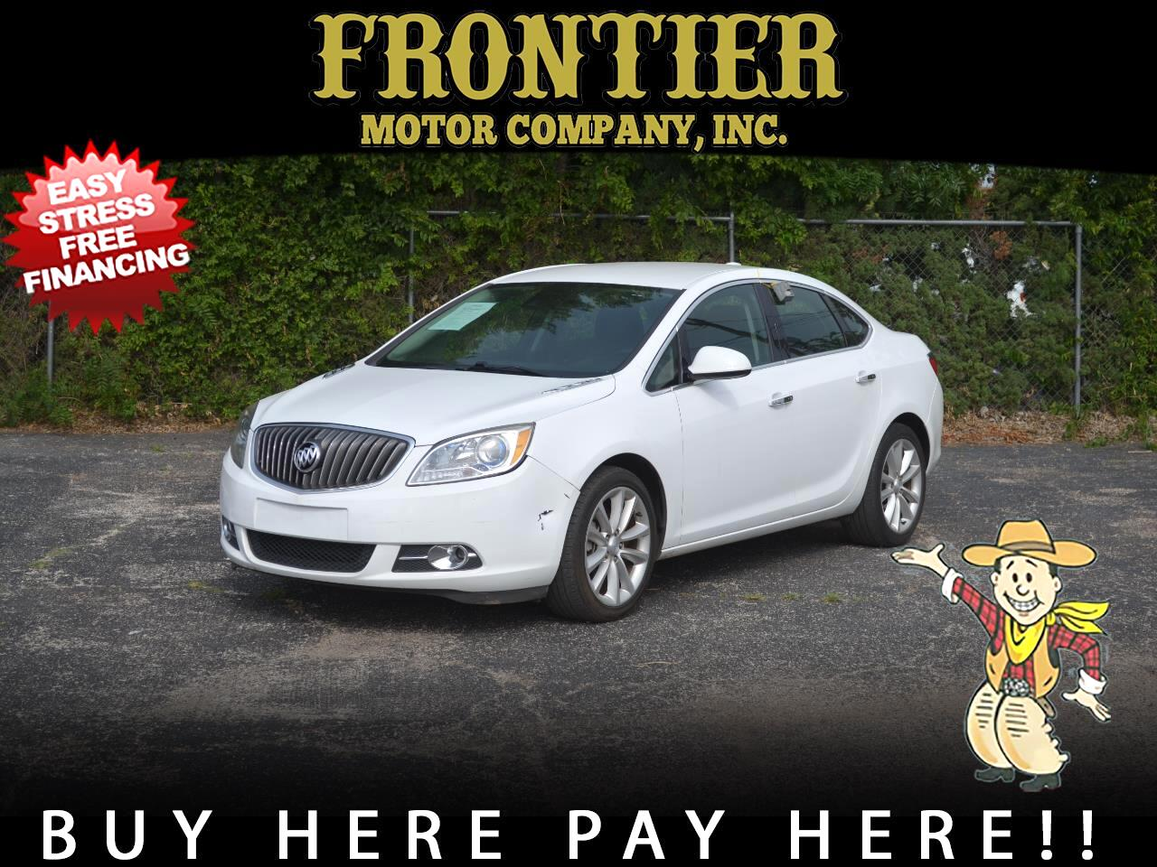 Buick Verano 4dr Sdn Leather Group 2015