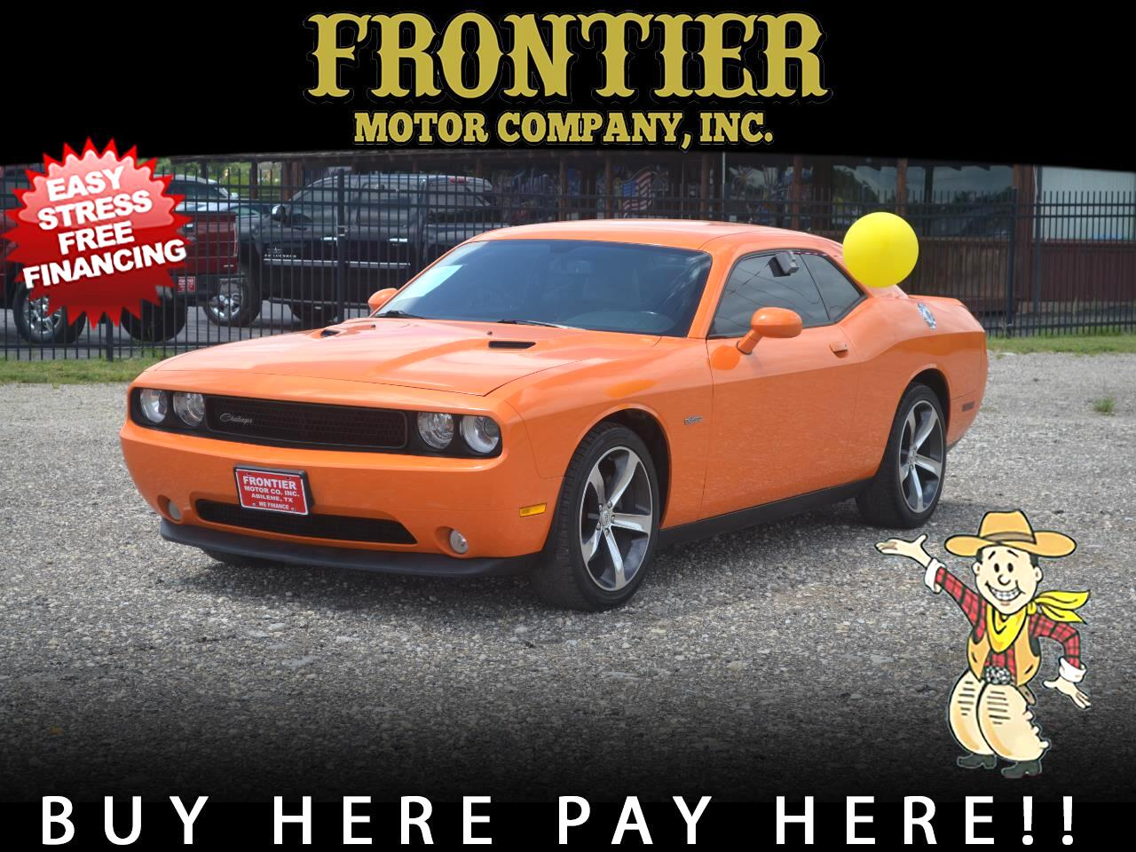 Dodge Challenger 2dr Cpe SXT 100th Anniversary Appearance Group 2014