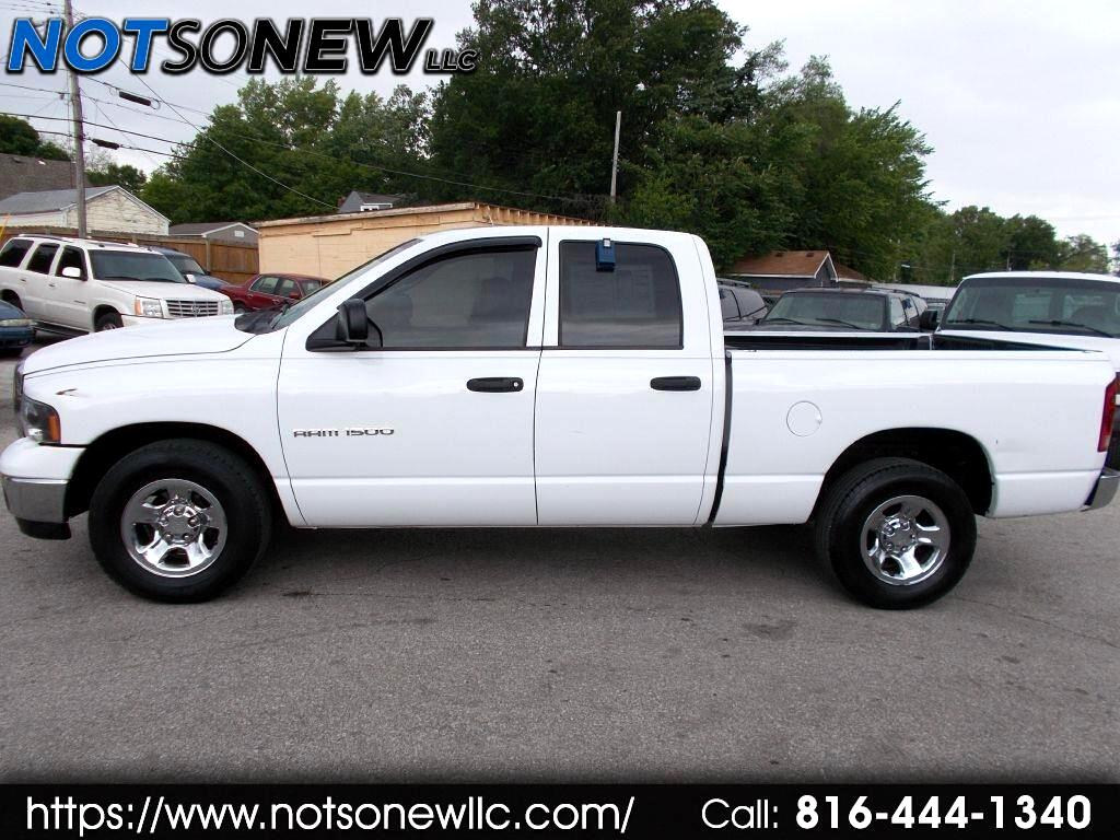 2005 Dodge Ram 1500 ST Quad Cab Long Bed 2WD