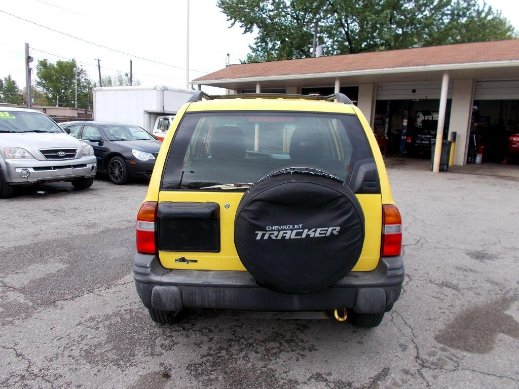 Chevrolet Tracker ZR2 4-Door Hardtop 4WD 2002