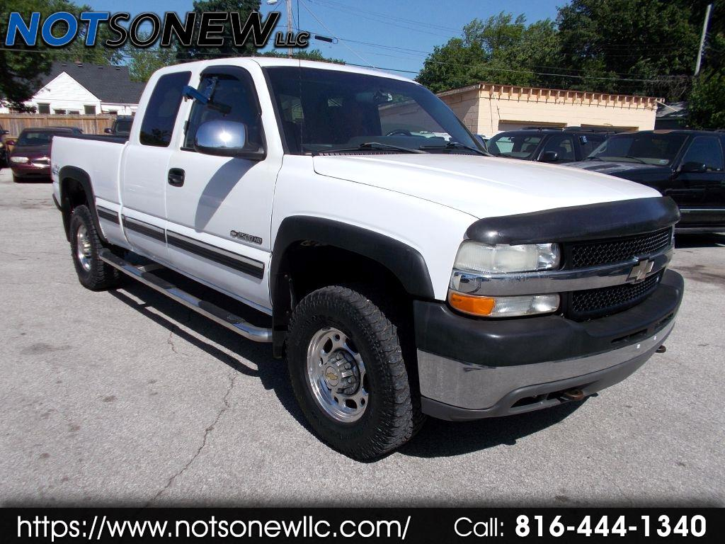 2002 Chevrolet Silverado 2500HD Ext. Cab Long Bed 4WD