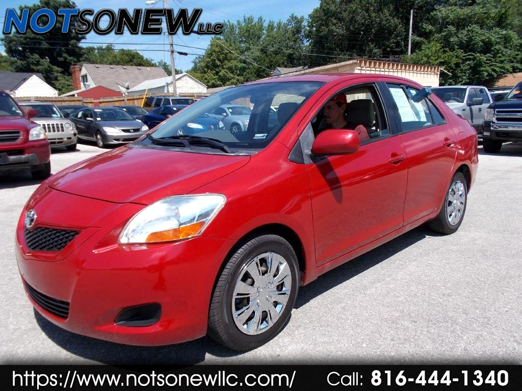 2010 Toyota Yaris Sedan 4-Speed AT
